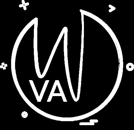 Wanderlust Virtual Assistant VA Caty Kidd WVA Logo Submark White